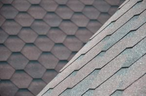 textured asphalt shingle roof