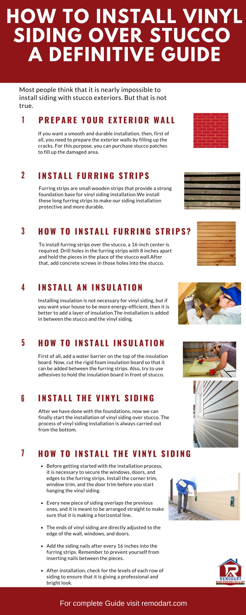 How to Install Vinyl Siding Over Stucco - A Definitive Guide