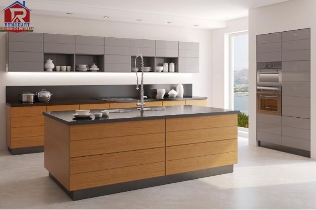 Updated Kitchen Look is the benefit of kitchen remodeling