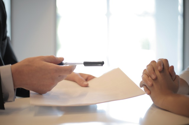 Never Make Down Payments Without Having A Contract