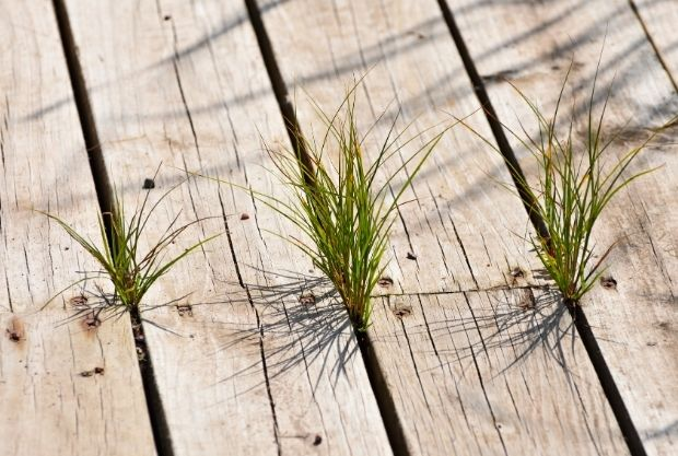 How to Build a Floating Deck on Grass