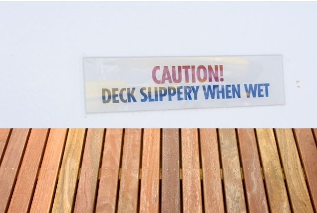 What Exactly Is The Best Method To Prevent Slippery Decking