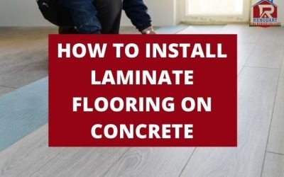 How to Install Laminate Flooring on Concrete? A Definitive Guide