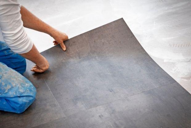 vinyl flooring over ceramic tile