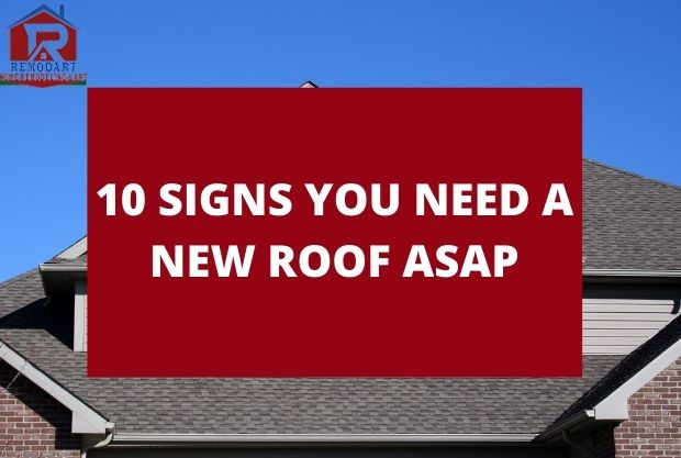 10 Signs You Need A New Roof ASAP