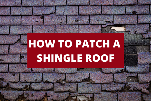 How to Patch a Shingle Roof